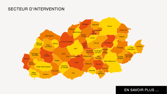 Secteur intervention